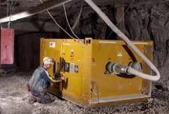 Equipo eléctrico de mina