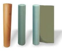 Packing, flexible, roll, made of polymeric