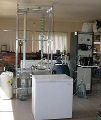 Equipo de laboratorio para destilación y