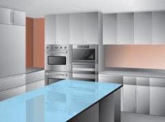Divisiones de vidrio para cocina