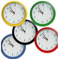Relojes publicitarios