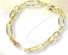 Pulseras de oro