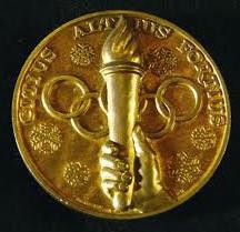 Medallas deportivas de oro
