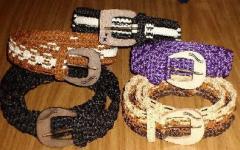 Cinturones artesanales