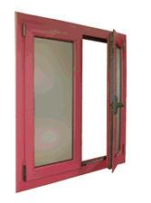 PVC ventanas laminadas