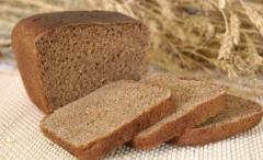 Pan de centeno del horno