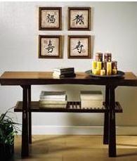 Elementos decorativos de la madera