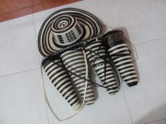 Sombreros 21 vueltas+ estuche y cinta