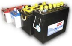 Baterías acumuladoras de níquel y cadmio para vagones