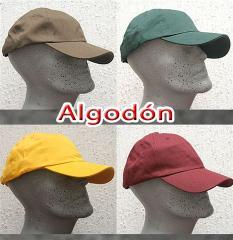 Gorras para publicidad (drill,acriclico,algodon)