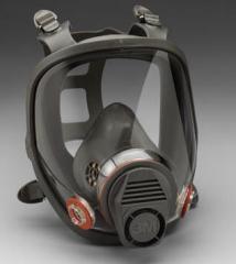 Respiradores filtrantes protectores contra el gas y polvo
