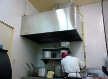 Campana para cocina de quemadores