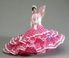 Muñeca Bailaora flamenca