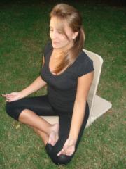 Silla para meditar