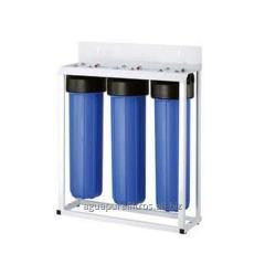 Filtro agua 3 etapas carcaza 20 pulg