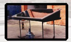 Destilador del agua