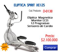Elipticas Magneticas Dyaco Spirit Xe-125 Pro