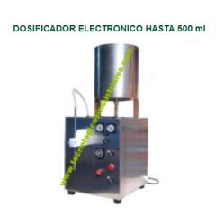Dosificador electronico hasta 500 ml