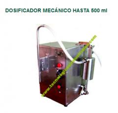 Dosificador mecánico hasta 500 ml