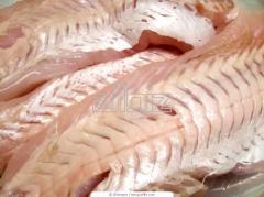 Filetes y rodajas de pescado