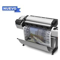 Plottea, imprime, copia, escanea y digitaliza