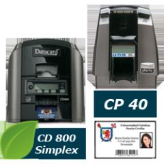 Impresión a una cara Impresoras de tarjetas