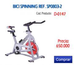 Venta de Bici spinning SP0803-2 Ref D-0147