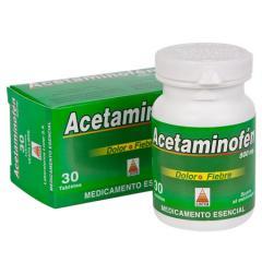 Acetaminofén 500 mg - Medicamento Esencial