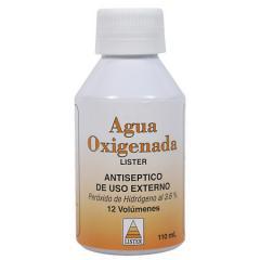Agua Oxigenada Lister