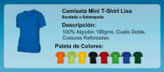 Camiseta Mini T-Shirt Lisa