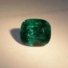 Precious stones faceted