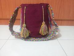 Mochilas artesanales wayuu de la guajira