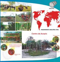 Cable Vias para Palma Africana
