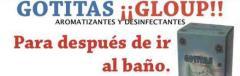 Gotitas Gloup, Aromatizantes y Desinfectantes