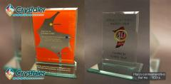 Trofeos y Placas en Vidrio