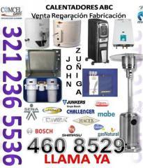 Alquiler de calefactores a gas para exteriores
