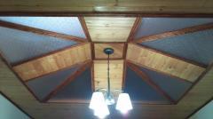 Cielorazos en pvc y madera pisos y kioscos