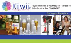 Fragancias- Bases - Insumos y Maquinaria para Fabricación de Perfumería Fina