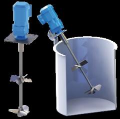 Agitador VR24B-016/020 doble hélice para mezclas sencillas