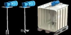 Agitador VR6A-054 con propela escualizable. Volumen depósito hasta: 4.3m³ / Potencia: 1.1Kw