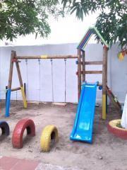 SPYD-011A: Parque Infantil en Madera Inmunizada al Vacío-Presión