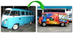 Decoración y publicidad vehicular