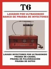 Lavador por Ultrasonido y prueba de inyectores