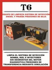 Equipo Limpiador Sistema de Inyección Diesel