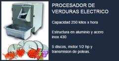 Procesador de alimentos electrico
