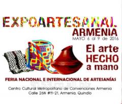 EXPOARTESANAL ARMENIA MAYO 6 AL 9 DE 2016