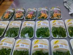 Verduras procesadas