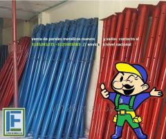 Parales metálicos para la construccion