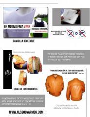 Ropa Blindada Antibalas y antipuñal