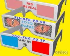 GAFAS 3D LENTICULAR BOGOTA